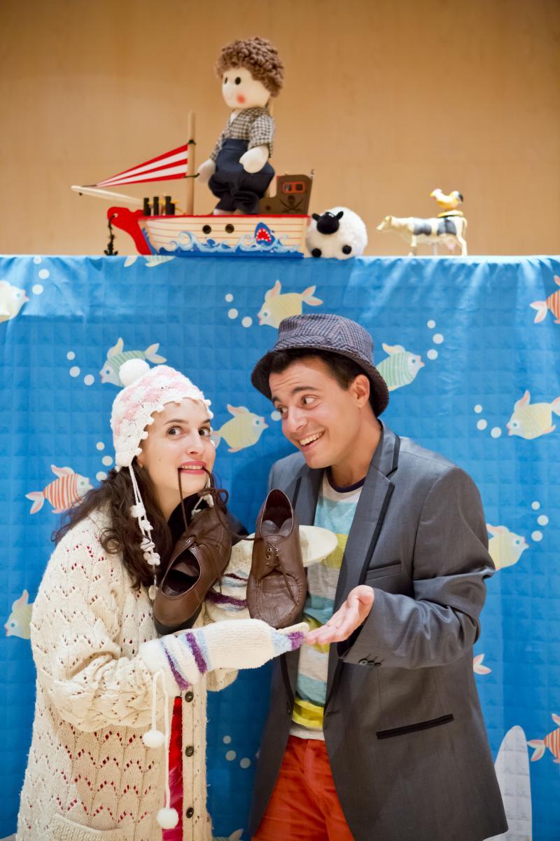 הצגה: הנעלים של אדון סימון תיאטרון אורנה פורת/ נגבה